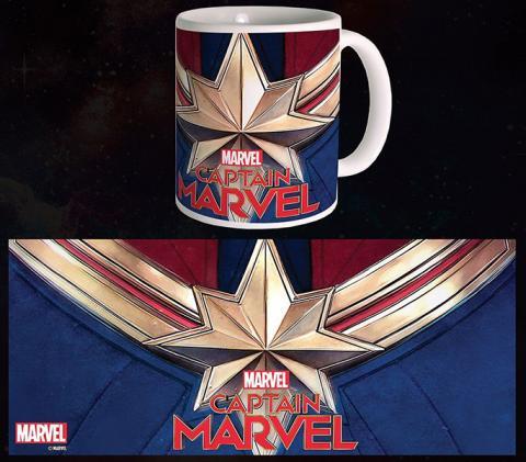 Captain Marvel Mug Logo