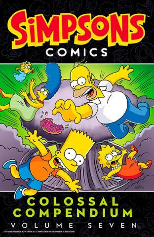 Simpsons Comics Colossal Compendium volume 7