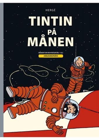 Tintin på månen (Månen tur och retur del 1 & 2)