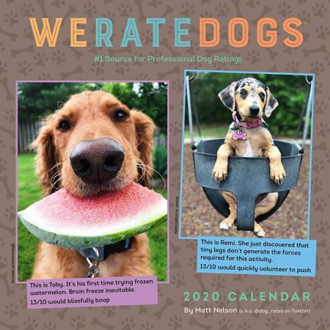 WeRateDogs 2020 Wall Calendar
