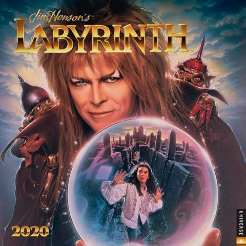 Jim Henson's Labyrinth 2020 Wall Calendar