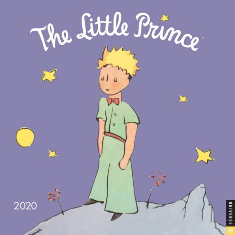The Little Prince 2020 Wall Calendar
