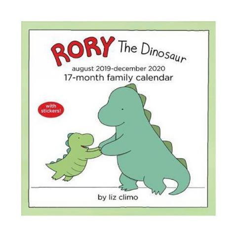 Rory The Dinosaur 2020 Family Wall Calendar