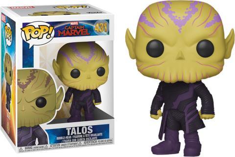 Captain Marvel Talos Pop! Vinyl Figure