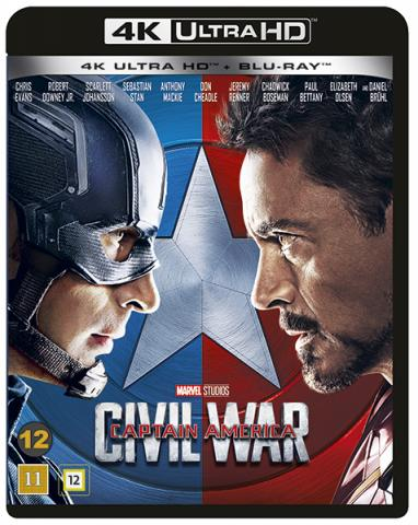 Captain America 3: Civil War (4K Ultra HD+Blu-ray)