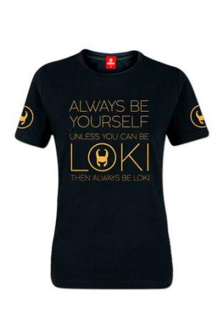 Always be Loki Ladies T-Shirt