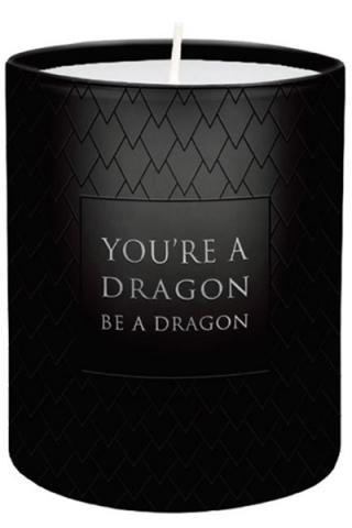 Votive Candle Be A Dragon 6 x 7 cm
