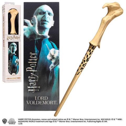 Lord Voldemort PVC Wand with 3D Lenticular Bookmark