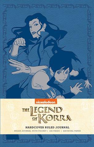 The Legend of Korra Ruled Journal