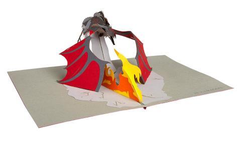 Pop-up Card Dragon