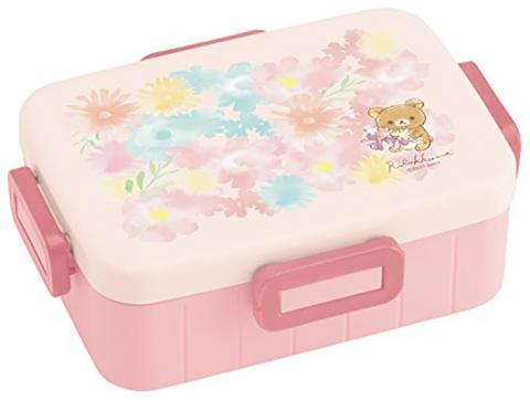 Rilakkuma lunchbox 650ml flower