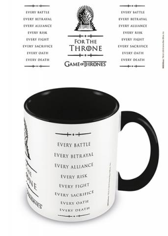 For The Throne Coloured Inner Mug