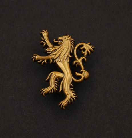 Pin Badge House Lannister