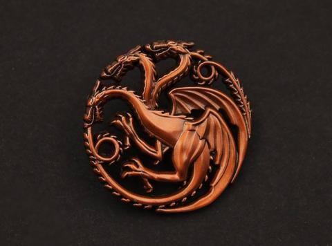 Pin Badge House Targaryen