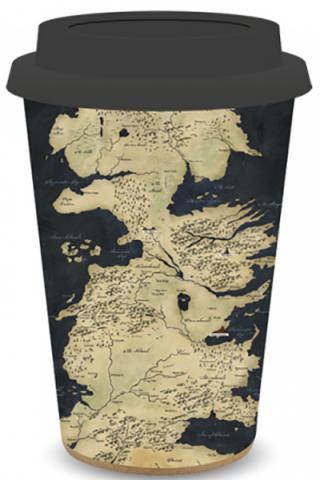 Travel Mug: Westeros Map