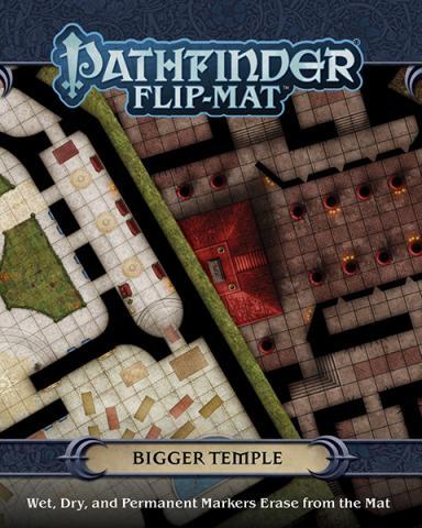 Pathfinder Flip-Mat - Bigger Temple