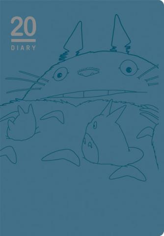 Ghibli Totoro schedule diary 2020 Large