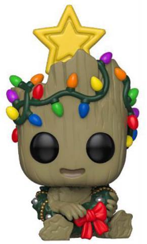 Holiday Baby Groot with Lights Pop! Vinyl Figure