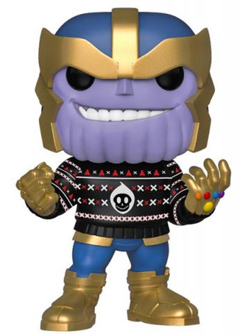 Holiday Thanos with Christmas Sweater Pop! Vinyl Figure
