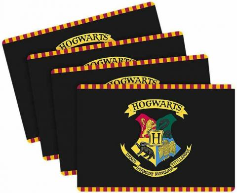 Harry Potter Hogwarts Placemat Set