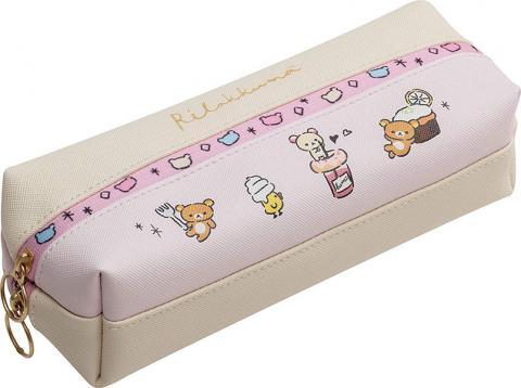 Rilakkuma Pen Case: Pink Sweets