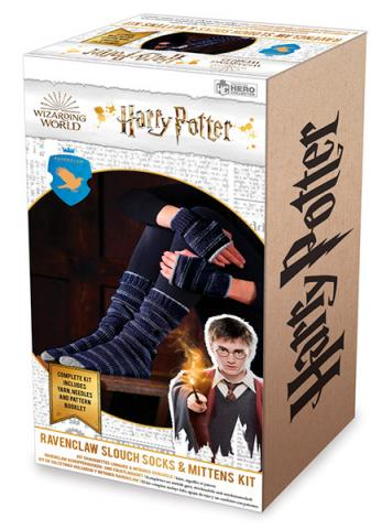 Ravenclaw Slouch Socks & Mittens Knit Kit