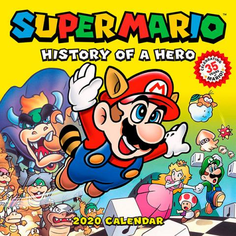 Super Mario History of a Hero 2020 Wall Calendar