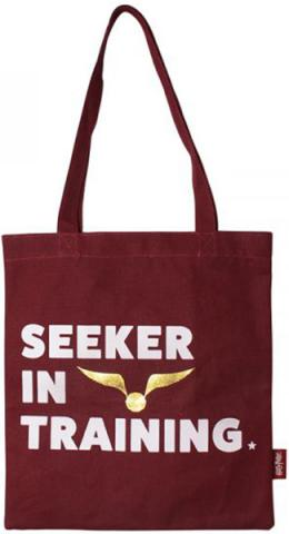 Harry Potter Shopper Tote - Quidditch (Seeker in Training)
