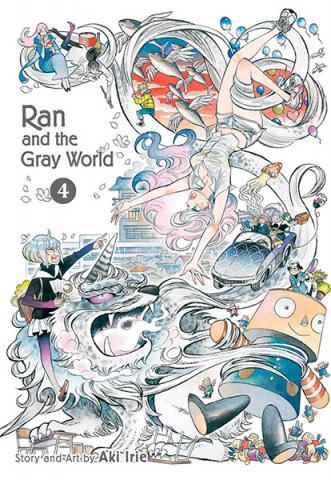 Ran and the Gray World Vol 4