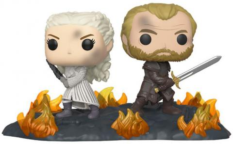 Daenerys and Jorah with Swords Pop! Vinyl Moment Figure