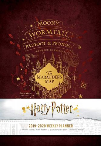 Harry Potter 2019-2020 Weekly Planner