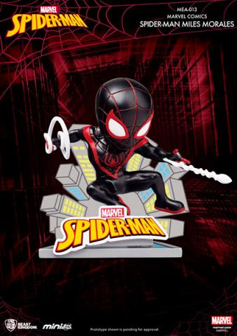 Spider-Man Mini Egg Attack Figure Miles Morales