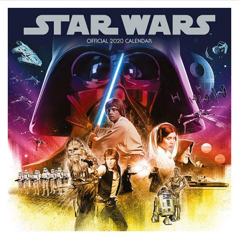 Star Wars 2020 Classic Wall Calendar