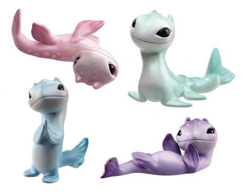 Little Nessies PVC Figurines BMP Display