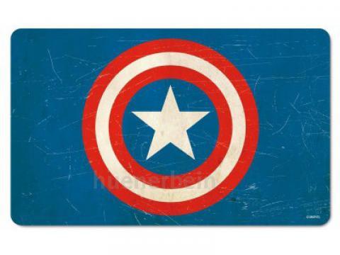 Breakfast Board Captain America Shield