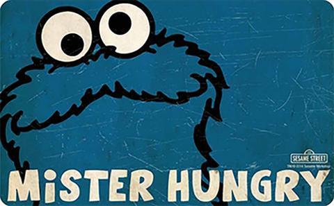 Breakfast Board Cookie Monster Mr. Hungry