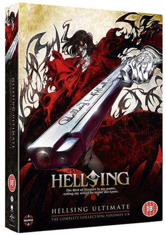 Hellsing Ultimate: Volume 1-10 Collection