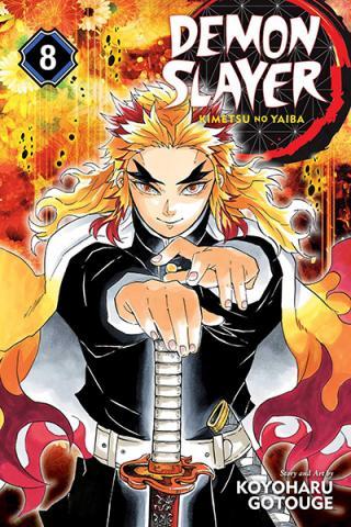 Demon Slayer Kimetsu no Yaiba Vol 8