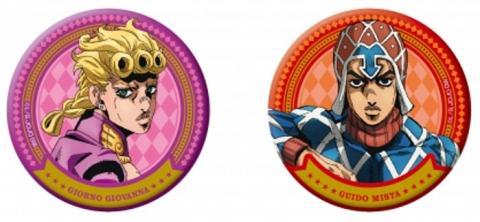 Giorno & Mista Can Badge Set