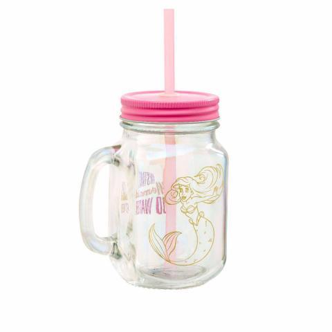 The Little Mermaid Mason Jar Glass Instant Mermaid Case (6)