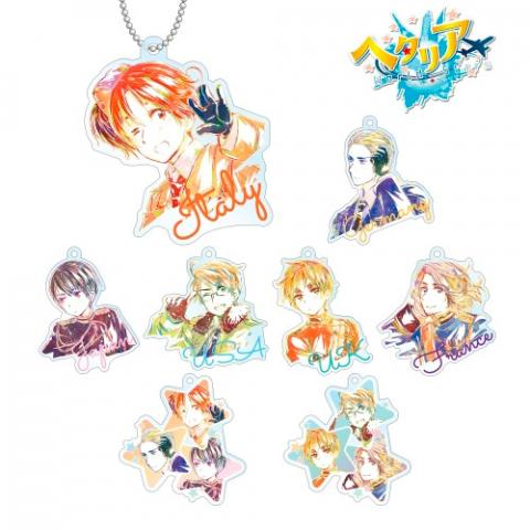 Trading Ani-Art Acrylic Key Chain