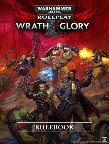 Warhammer 40K Wrath & Glory RPG: REVISED Core Rulebook