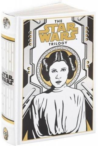 The Star Wars Trilogy, leatherbound Leia