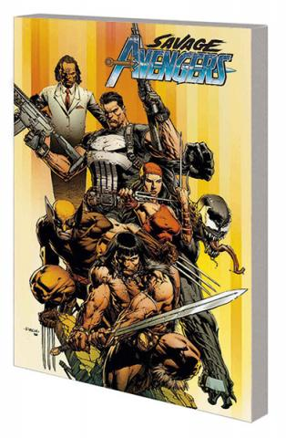 Savage Avengers Vol 1: City of Sickels