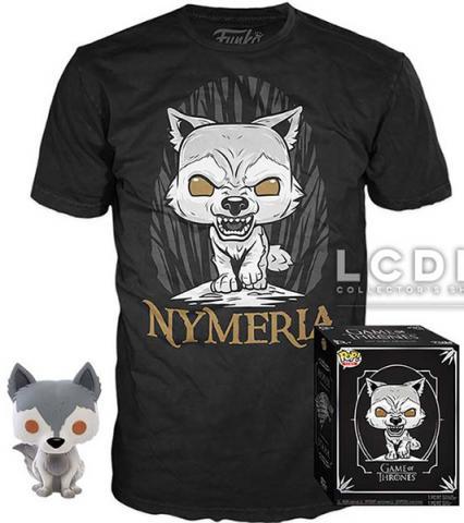 POP!  & Tee Box Nymeria