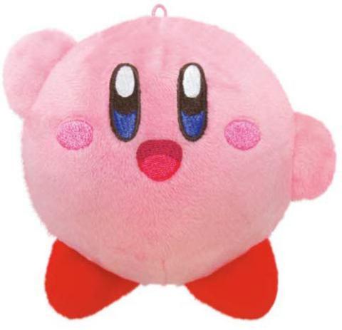 Kirby's Dream Land Nukuiizu Plush Mascot Kirby Smile