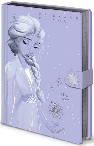 Frozen 2 Premium Notebook A5 Lilac Snow