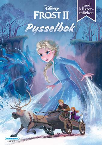 Frost II Pysselbok (24 sidor, inkl. klistermärken)