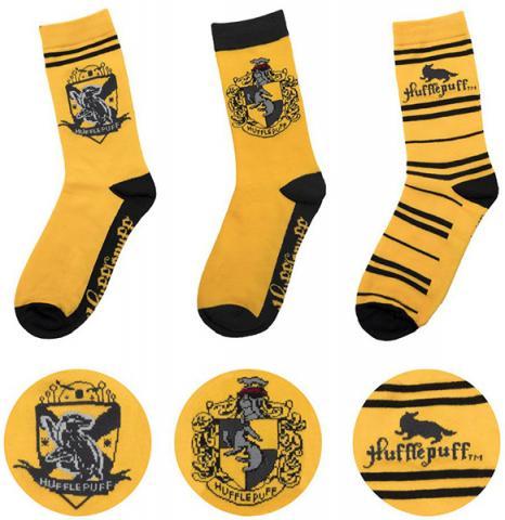 Harry Potter Socks 3-Pack Hufflepuff