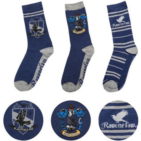 Harry Potter Socks 3-Pack Ravenclaw
